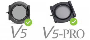 Compatible with NiSi V5 PRO